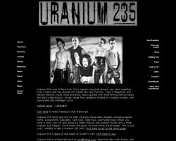 Uranium 235 website